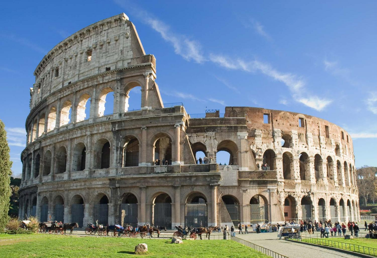The Roman Colosseum is only one of the locations that DCHS students will be visiting this Spring Break.
