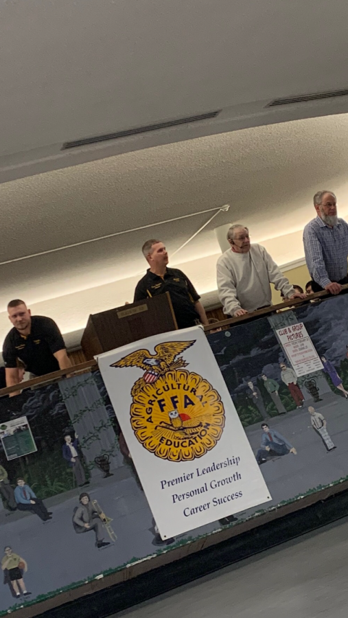 Delphi FFAs member auction took place last Tuesday, Feb. 25 in the high school cafeteria.