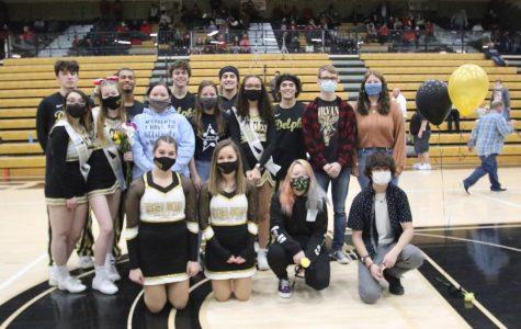 Boys basketball honors seniors