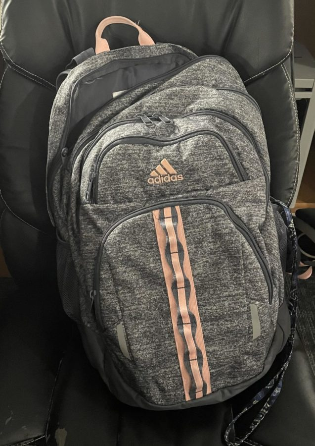 Sincerely, your backpack