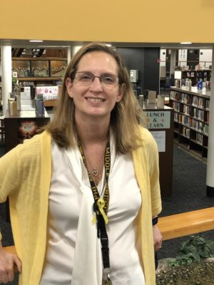 Mrs. Circle: Delphi's new superintendent
