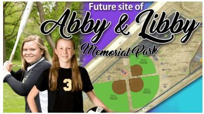 Senior Picture Taken at Abby and Libby Memorial Park