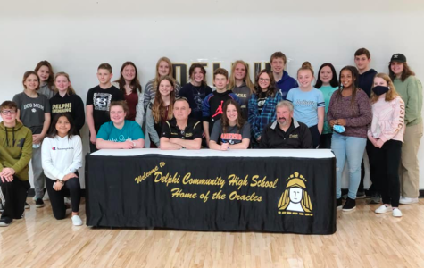 Maddie Adams signs letter of intent to swim at Anderson University