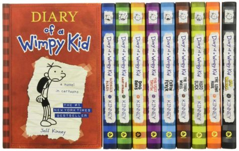 Childhood book series that cause nostalgia
