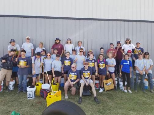 SAE students travel to Farm Progress Show