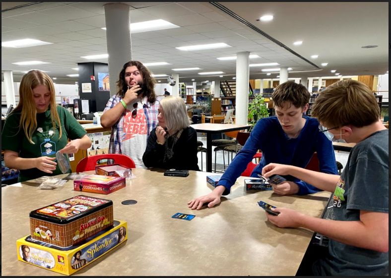Board game clubs first meeting in the LMC