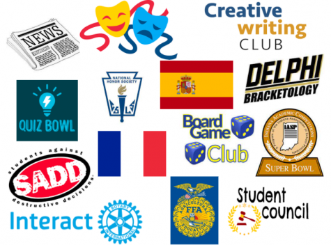 Clubs offered at DCHS