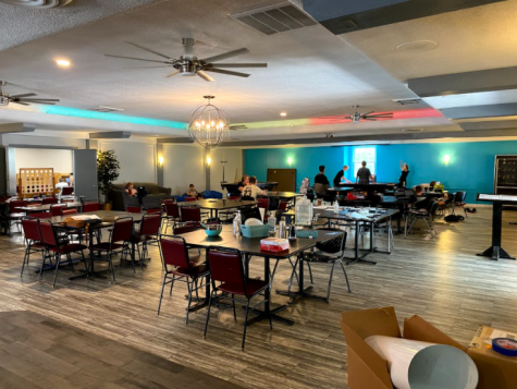Taken by Mia Wilson. Photo of the Upper Room Youth Center.