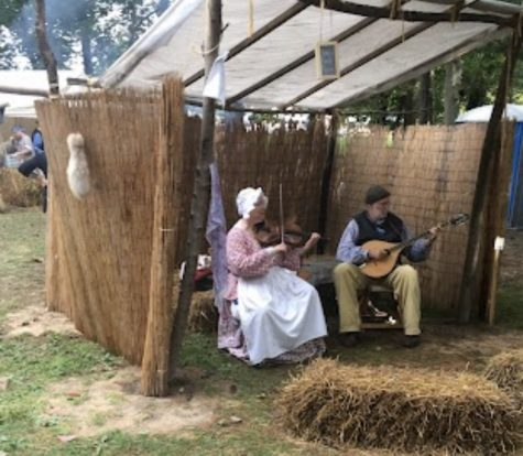 Feast of the Hunters Moon, back in 2018, had music being played in many scenes.